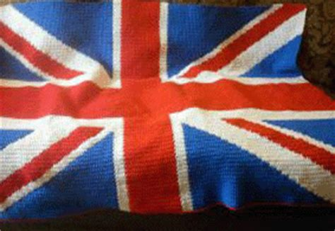 crochet pattern union jack nations flag crochet pattern graphs