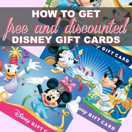 Discounted Disney Gift Card - how to pay off debt when living paycheck to paycheck