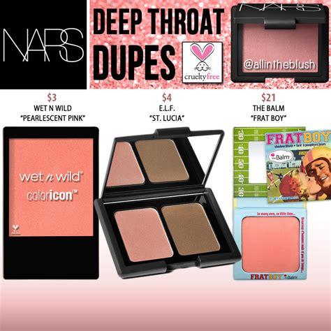 Nars Powder Blush Throat nars cosmetics throat blush cruelty free dupes all