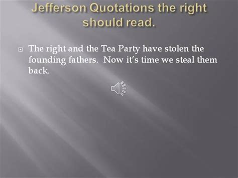 Jefferson Quotations The Right Should Read Authorstream Jefferson Powerpoint Template