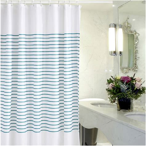 Modern Shower Curtains New Modern Bathroom Shower Curtain 72 Waterproof Fabric Shower Curtain 12 Hook Ebay