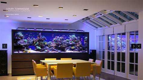 acquari in casa l acquario che tutti noi vorremmo in sala da pranzo