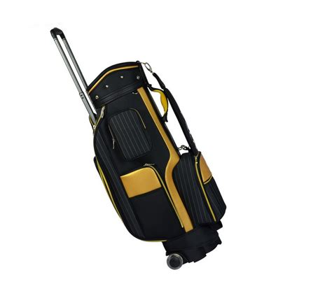 high quality golf bags with wheels wholesale new custom