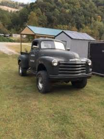 1952 chevy truck 4x4 for sale photos technical