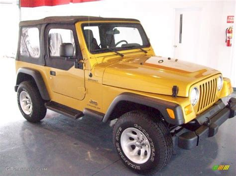 gold jeep 2003 inca gold metallic jeep wrangler sport 4x4 27234929