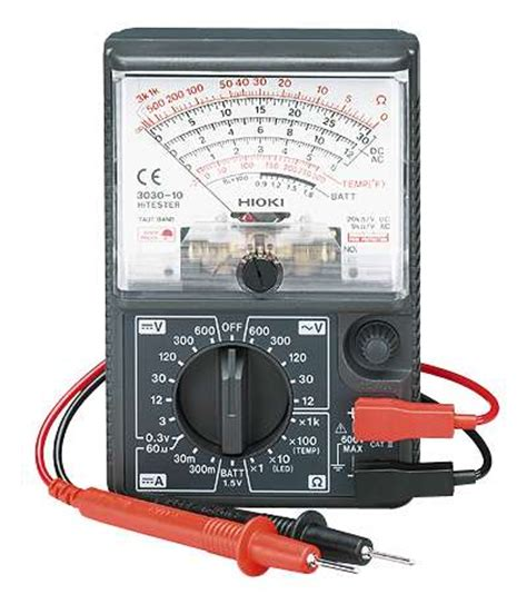 Multimeter Hioki hioki analog multimeter from cole parmer