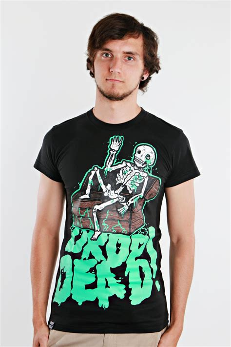 drop dead drop dead mourning t shirt impericon worldwide