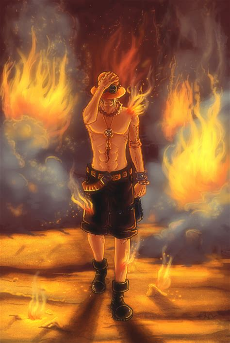 fire fist ace by irenukia on deviantart fire fist ace by mikan no tora on deviantart