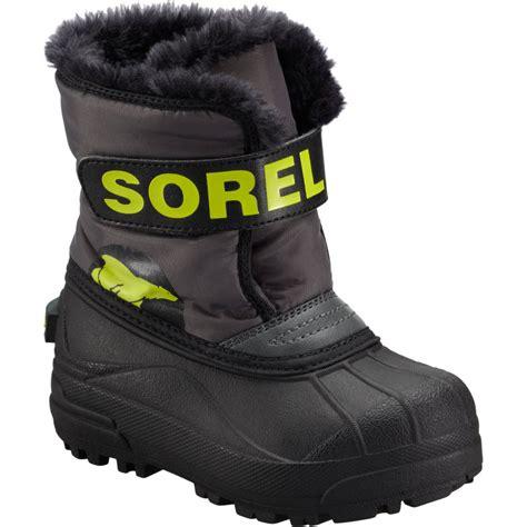 toddler boys snow boots sorel snow commander boot toddler boys backcountry