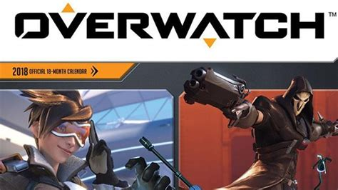 libro official overwatch 2018 wall overwatch gets its own 2018 wall calendar mweb gamezone