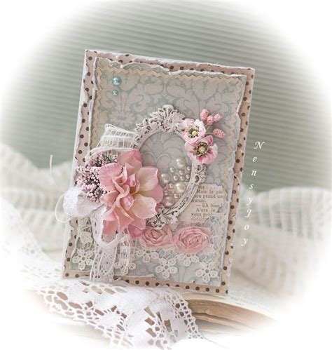 the 25 best ideas about shabby chic cards on pinterest