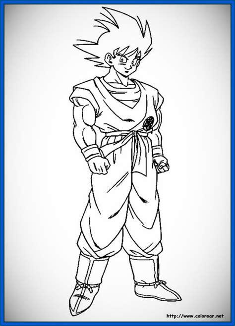 imagenes de goku normal para dibujar grandiosas imagenes de dragon ball z para imprimir