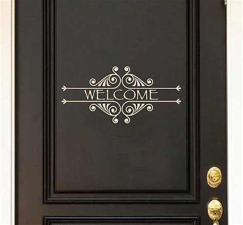 Door Decal by Door Decals Give To Your Home Design