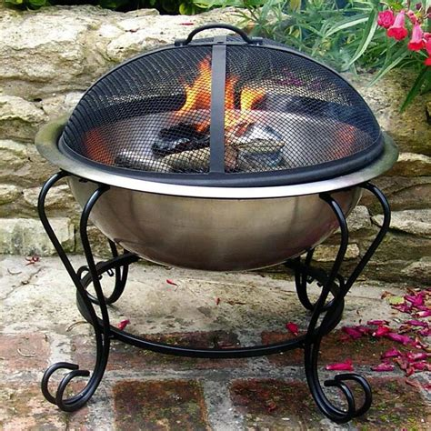 Portable Gas Firepit Portable Gas Pit Placed Med Home Design Posters