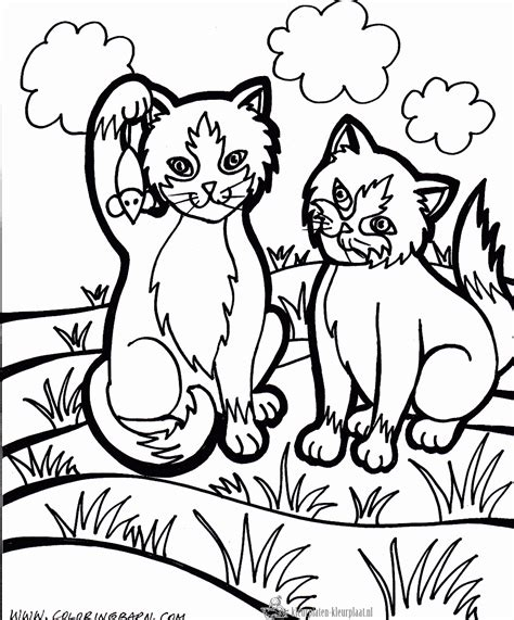 Kleurplaten Katten Kleurplaten Kleurplaat Nl Coloring Pages Dogs And Cats 2