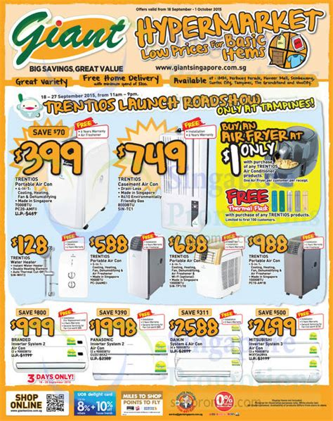 Ac Portable Hypermart hypermarket europace trentios appliances offers 19