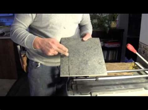 How To Cut Ceramic Floor Tile by How To Cut Porcelain Tile Using A Tile Cutter