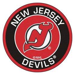 new jersey devils home jersey new jersey devils logo roundel mat 27 quot