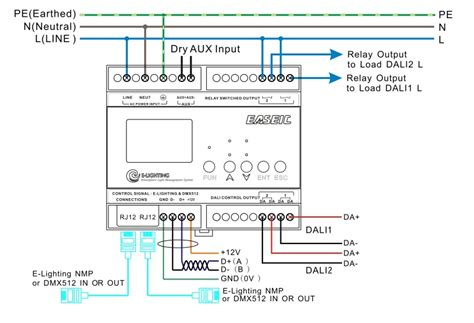 dali lighting wiring diagram wiring diagram with