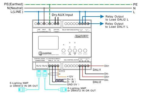 dali lighting wiring diagram wiring diagram with