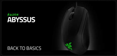 Razer Abyssus V2 Three Color Gaming Mouse Original Garansi Resmi razer abyssus 2014 ambidextrous gaming mouse rz01 01190100 r3a1 pc gear