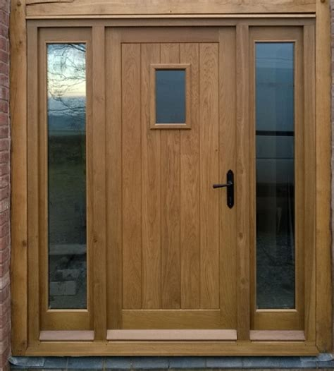 Hardwood Exterior Doors And Frames Bespoke External Doors By Sanderson S Funiture Joinery