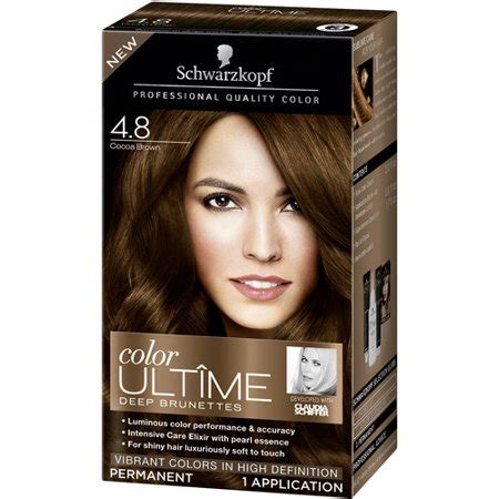 cocoa brown hair color schwarzkopf color ultime brunettes hair coloring kit