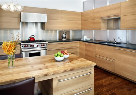 kitchen cabinets without hardware top 9 hardware styles for flat panel kitchen cabinets