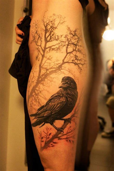 raven tattoos designs 55 artistic designs