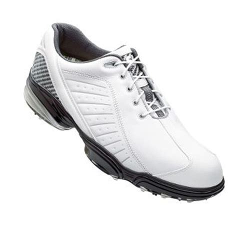 footjoy sport shoes footjoy mens fj sport golf shoes 53197 white silver ebay