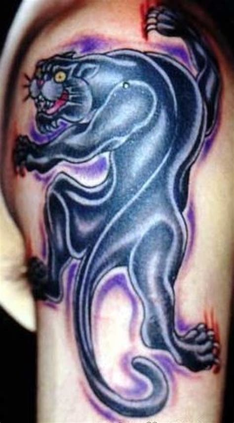 awesome black panther tattoo on arm tattoos book 65
