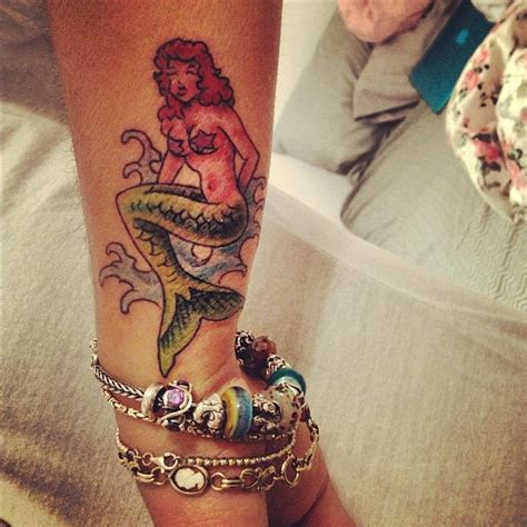 pinup mermaid tattoo 17 best images about mermaid on