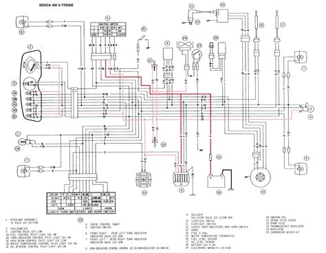 derbi senda cdi wiring diagram efcaviation