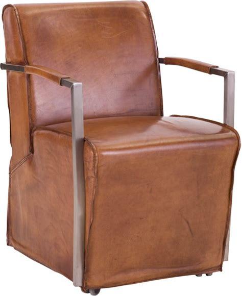 goossens stoelen bol goossens mountain vintage stoel bruin met arm