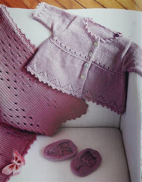tejidos a palillo paso a paso chalecos conjunto tejido a dos agujas batita mantilla y
