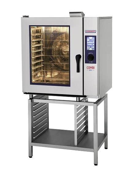hobart hpj101e convection steamer combi plus 10 tray