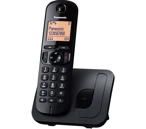 panasonic kx tgc210eb cordless phone house telephones