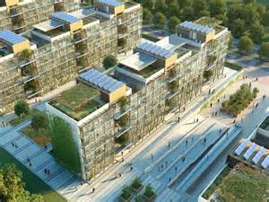 Sustainable Apartment Design by Nanjing Eco Housing Bdp China Landsea Development E