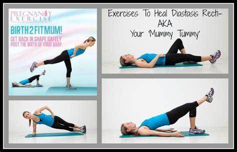 postpartum exercises  diastasis recti postnatal