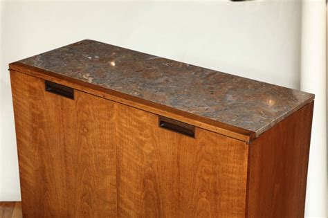 marble top bar cabinet midcentury marble top bar cabinet at 1stdibs