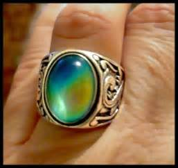 colors of mood rings mood ring sterling silver or mood color by