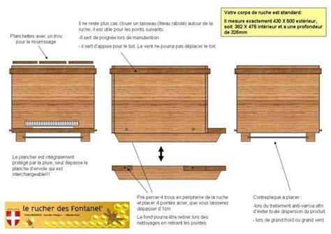 plan de fabrication de ruche dadant 10 cadres page5 abeilles tags construction