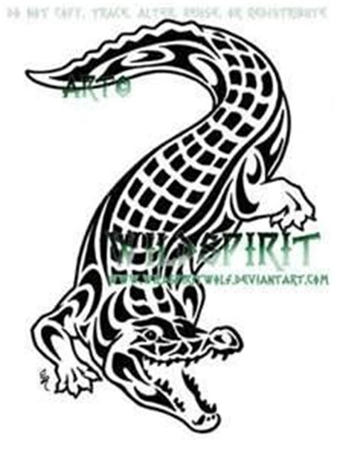 tribal crocodile tattoo 7 best images about crocodile tattoos on david