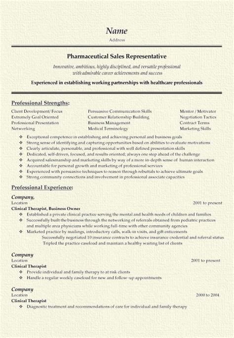 resume summary exles pharmaceutical sales 11 best images about resume on