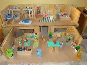maisons playmobil cr 233 ations