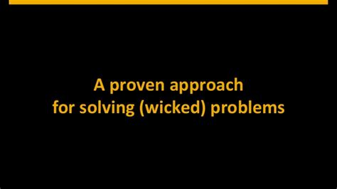 design thinking wicked problems design thinking how to find innovative solutions for