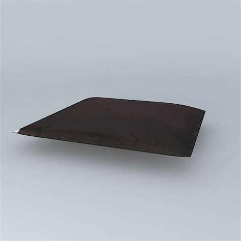 Floor Trader Cocoa by Chocolate Floor Cushion Soft Houses The World 3d Model