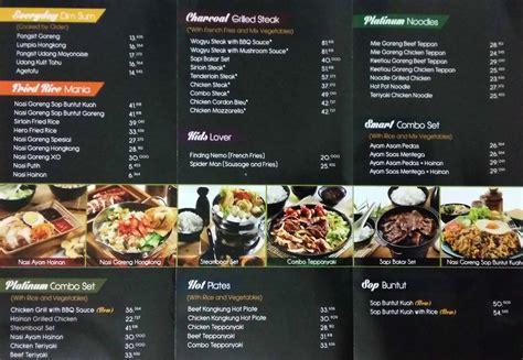 Daftar Coffee Di J Co nomor telpon dan daftar menu delivery order platinum resto