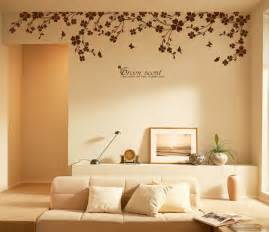 mural stickers for walls details about 90 quot x 22 quot large vine butterfly wall decals