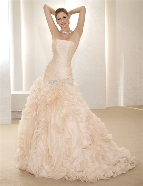 wedding trends blush wedding dresses magazine